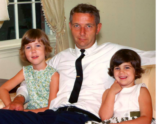 Me, my dad and my sister circa 1965