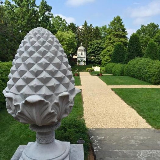 The Inspiring Gardens of Annapolis William Paca House Here By
