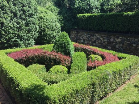 Elizabethan Knot Garden/Photo: Here By Design