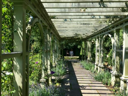 View inside pergola/Photo: Here By Design